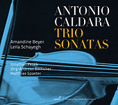 Caldara: Trio Sonatas by Amandine Beyer