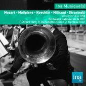 Mozart - Malipiero - Koechlin - Milhaud - Stravinski, Orchestre national de la RTF - F. André (dir) by Franz André