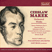 Marek: Suite for Orchestra Op. 25, Quatre Méditations Op. 14, Sérénade Op. 24, Sinfonietta in D Op. 16 by Various Artists