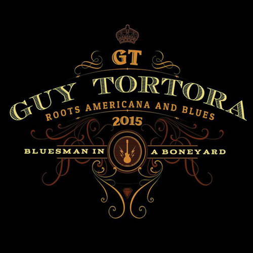 Bluesman in a Boneyard by Guy Tortora