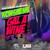 Gal A Wine - Single by Konshens