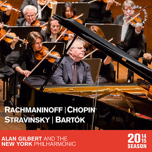 Rachmaninoff: Vocalise - Chopin: Piano Concerto in F Minor - Stravinsky: The Firebird Suite - Bartók: The Miraculous Mandarin Suite by New York Philharmonic