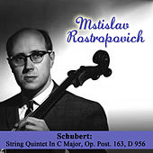 Schubert: String Quintet In C Major, Op. Post. 163, D 956 by Mstislav Rostropovich