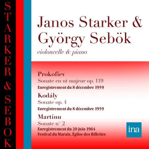 Prokofiev - Kodaly - Martinu by Janos Starker