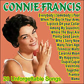 Connie Francis - 20 Unforgettable Songs by Connie Francis