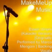 Esseri Umani - Base Musicale Con Cori by Marco Mengoni