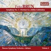 Brun: Symphony No. 1, Overture to a Jubilee Celebration by Moscow Symphony Orchestra