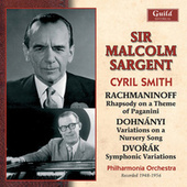 Rachmaninoff: Rhapsody on a Theme of Paganini - Dohnányi - Variations on a Nursery Song - Dvořák - Symphonic Variations by Various Artists
