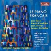 Rivier: Concerto Brève - Casadesus: Capriccio, Op. 49 - Wiener: Concerto No. 1 'Franco Americain' - Castérède: Concerto for piano and string orchestra by Timon Altwegg