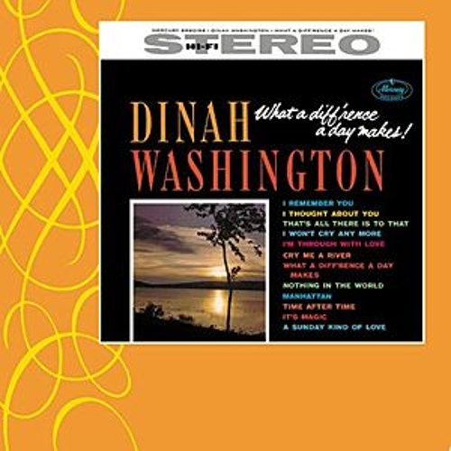 What A Difference A Day Makes by Dinah Washington