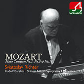 Mozart: Piano Concerto No. 1, No. 5 & No. 18 by Shinsei Nihon Symphony Orchestra