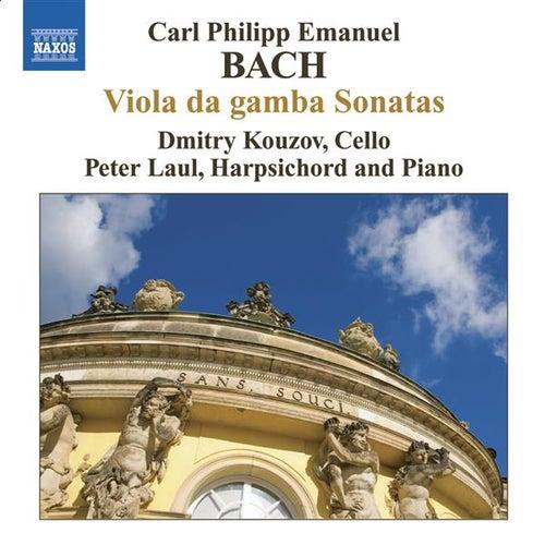BACH, C.P.E.: Viola da gamba Sonatas by Dmitry Kouzov