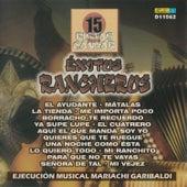 15 Pistas para Cantar - Sing Along: Exitos Rancheros by Mariachi Garibaldi