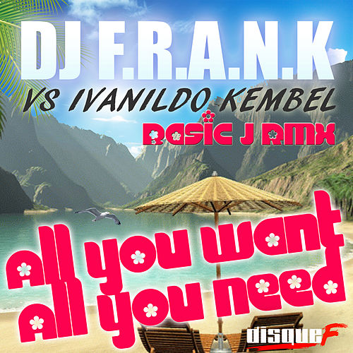 All You Want, All You Need Basic J Remix Radio Edit by DJ Frank