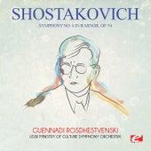Shostakovich: Symphony No. 6 in B Minor, Op. 54 (Digitally Remastered) by Guennadi Rosdhestvenski