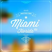 Greetings from Miami, Florida, USA by Various Artists