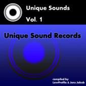 Unique Sounds, Vol. 1 - EP von Various Artists
