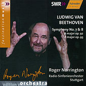 Beethoven: Symphonies Nos. 7 and 8 by Stuttgart Radio Symphony Orchestra