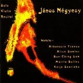 Solo Violin Recital by János Négyesy