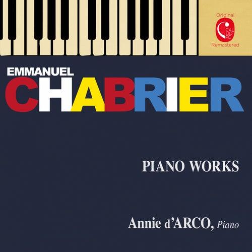 Chabrier: Pièces pour piano by Annie d'Arco