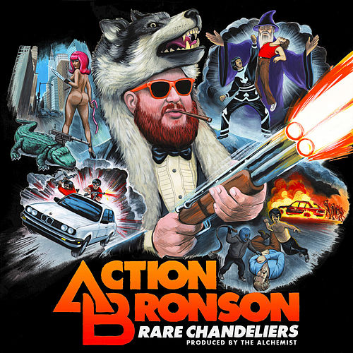 Rare Chandeliers by Action Bronson