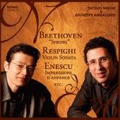Beethoven, Respighi & Enescu by Giuseppe Andaloro