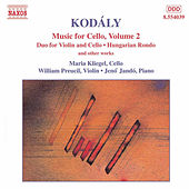Music for Cello Vol. 2 by Zoltan Kodaly