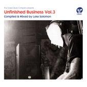 Unfinished Business Volume 3 Mixtape by Luke Solomon