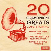 20 Gramophone Greats, Vol. 5 by Various Artists