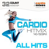 Cardio Hitmix! All Hits (140-152 BPM, 32-Count, Nonstop Fitness & Workout) by Various Artists