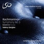 Rachmaninov: Symphony No. 3 - Balakirev: Russia von Valery Gergiev