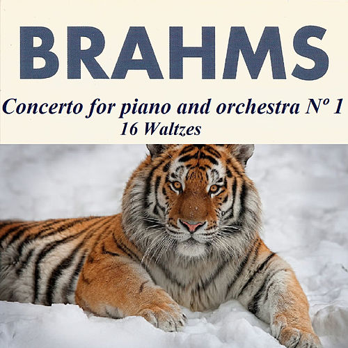Brahms - Concerto for piano and orchestra Nº 1 - 16 Waltzes by Karin Lechner
