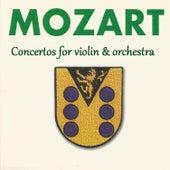 Mozart - Concertos for violin & orchestra by Michail Gantvarg