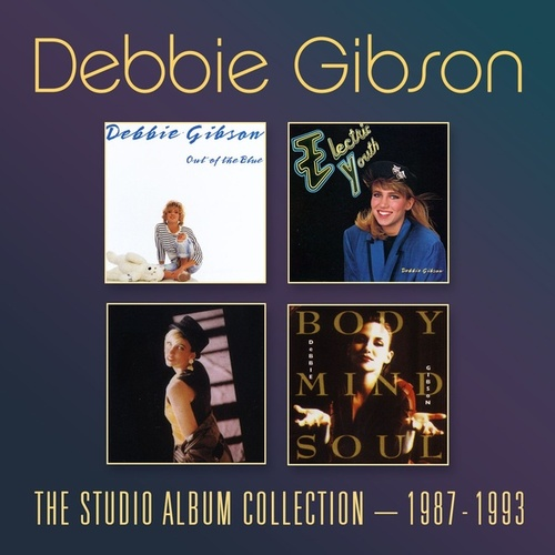 The Studio Album Collection 1987-1993 by Debbie Gibson