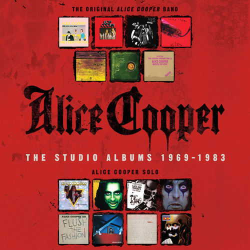 The Studio Albums 1969-1983 by Alice Cooper