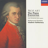 Mozart: The Piano Concertos by Vladimir Ashkenazy