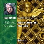 Harbison Symphonies 5 & 6 by Boston Symphony Orchestra