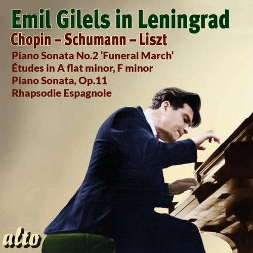 Emil Gilels in Leningrad by Emil Gilels