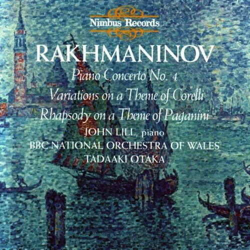 Rakhmaninov: Piano Concerto No.4 & Variations on Corelli & Paganini by Sergei Rachmaninov