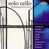 20th Century Works for Cello by Various Artists