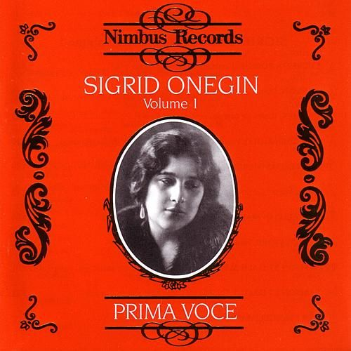 Prima Voce: Onegin Volume 1 by Various Artists