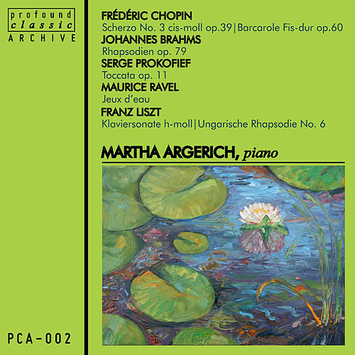 Piano by Martha Argerich
