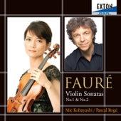 Faure: Violin Sonatas No. 1 & No. 2 by Pascal Roge