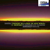 Dvorak: Symphony No. 9 from the New World, 3 Overtures by Czech Philharmonic Orchestra