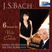 J.S. Bach: 6 Sonatas for Violin and Cembalo by Michio Kobayashi