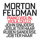 Morton Feldman: Piano, Violin, Viola, Cello by Job Ter Haar