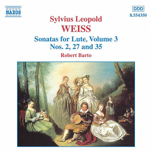 Sonatas for Lute Volume 3 by Sylvius Leopold Weiss