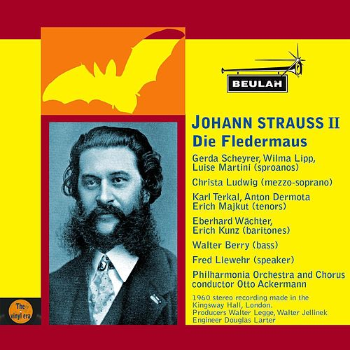 Strauss II: Die Fledermaus by Philharmonia Orchestra