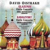 Glazunov and Kabalevsky: Violin Concertos by David Oistrakh