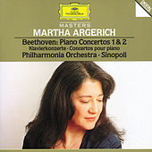 Beethoven: Piano Concertos No.1 Op.15 & No.2 Op.19 by Martha Argerich